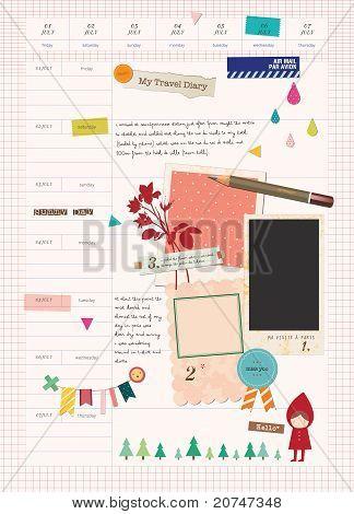 Beautiful Scrapbook Elements