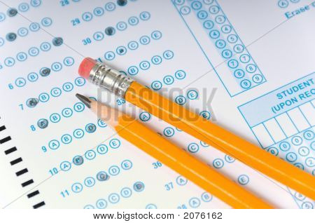 Pencils On Exam