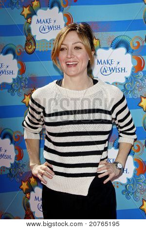 SANTA MONICA - MAR 14: Sasha Alexander at the Kevin + Steffiana James + Make-A-Wish Foundation Host A Day of Fun at the Santa Monica Pier in Santa Monica, California on March 14, 2010.