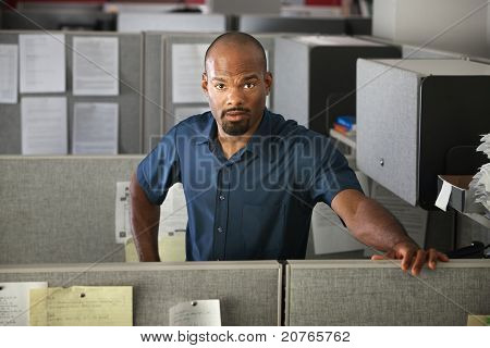 Calm Office Worker