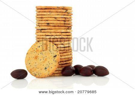 Olive Cracker Biscuits