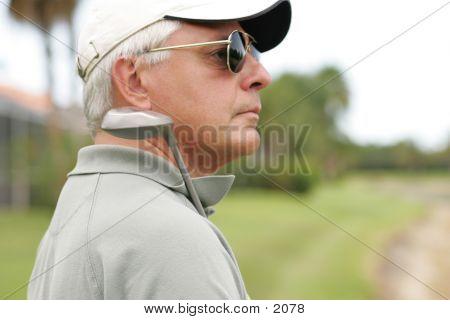 Golfer 8769