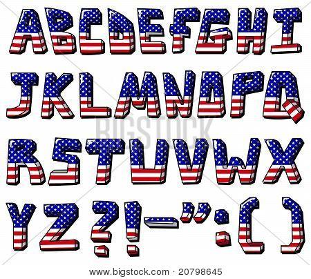 USA-Alphabet