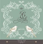 pic of wedding invitation  - card cover design - JPG