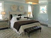 picture of master bedroom  - Luxury House with regal elegant bed room - JPG