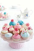 stock photo of cupcakes  - Cupcakes - JPG