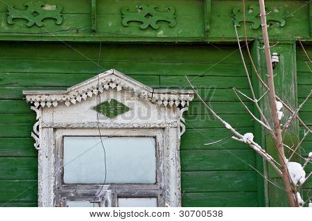 Beautiful window decoration