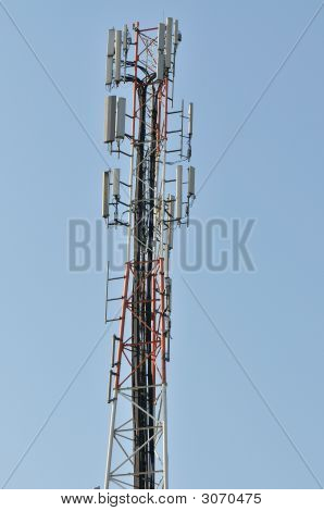 Mast To Antenna Mobile Telephony