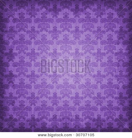 Shaded Purple Damask Background