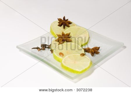 Still-Life With Lemons & Cinnamon Stars