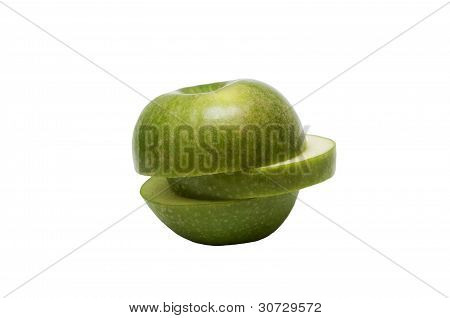 lobule of green apple
