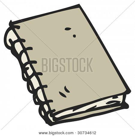 cartoon sketchbook