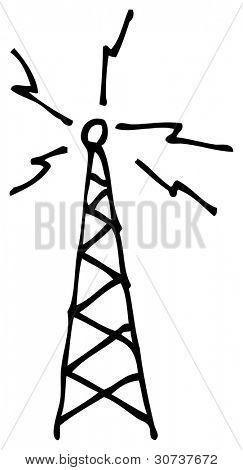 transmitter doodle