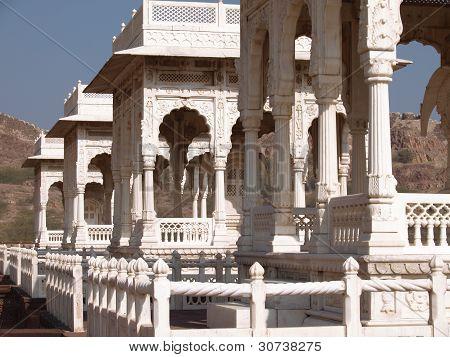 Tombs In Jodphur