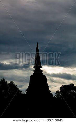 The Thai Style Pagoda