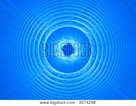 Blue Background  With Motion