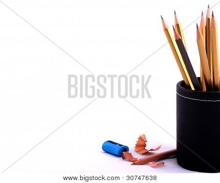 Isolated Pencil Case