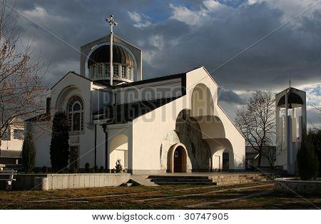 Church In The Late Autumn
