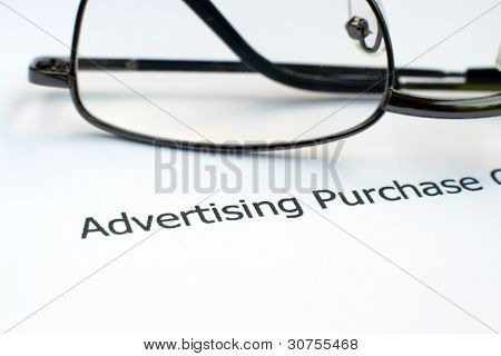 Advertising Form