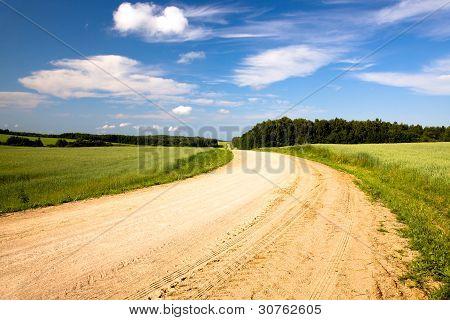 rural road (summer)