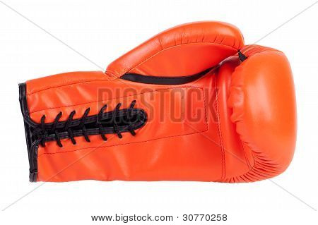 Laced Boxing Glove