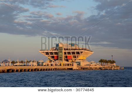 Der Pier in St. Pete, Florida