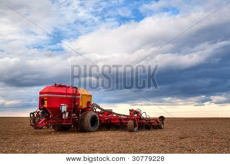 The Seeding machine