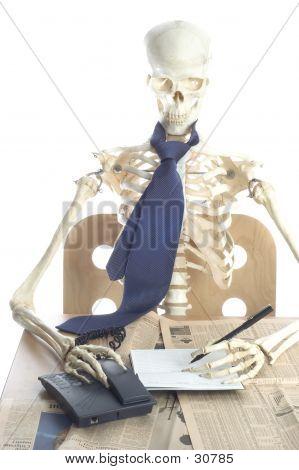 Skeleton At Work 5
