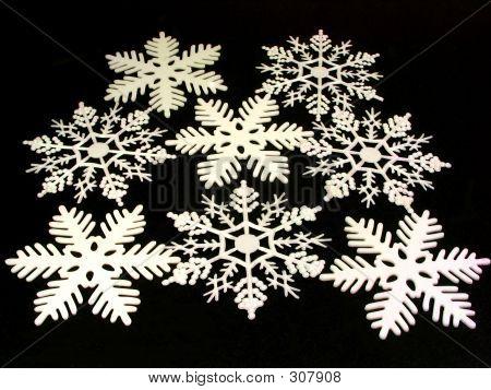 Snow Flake-Gruppe mit Gliter Angaben