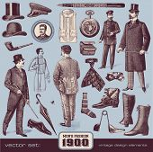 Gentlemen's Fashion and Accessories (1900)