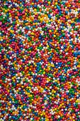 picture of jimmy  - Background of colorful sprinkles jimmies for cake decoration or icecream topping - JPG