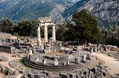 picture of oracle  - circular temple  - JPG