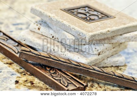 Ceramic Tiles And Borders