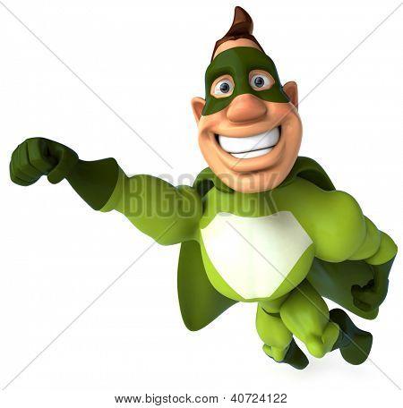 Superhéroe verde