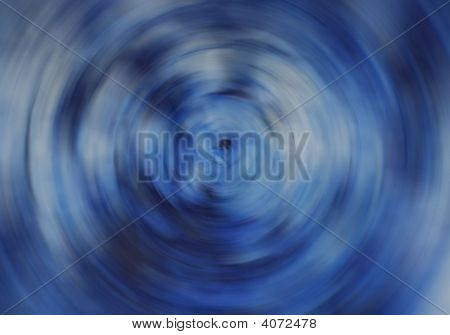 blau kreisförmige verwischen