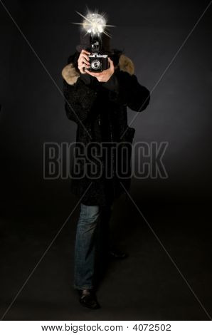 Retro Style Photographer