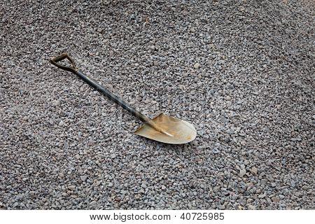 Shovel On The Gravel - Road Works