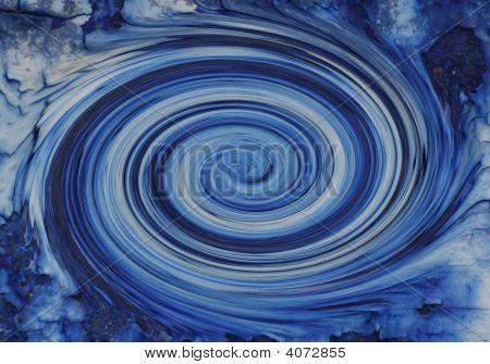 schnell blue swirl