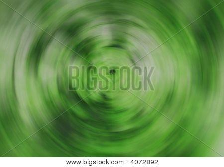 Green kreisförmige verwischen