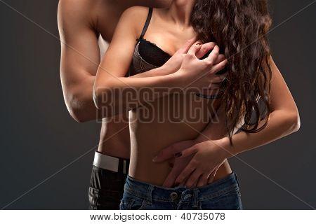 Fashion Naked Couple