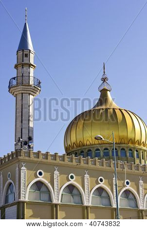 Minaret And Mosque Of Nabi Saeen In Nazareth, Israel