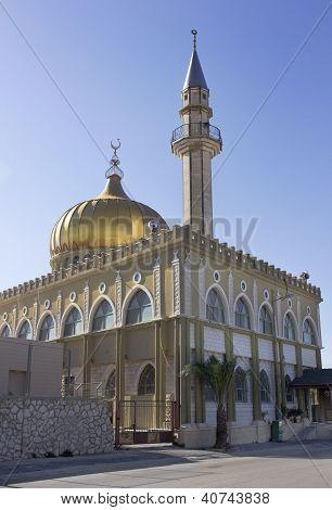 Mosque Makam El Nabi Sain In Nazaret, Israel