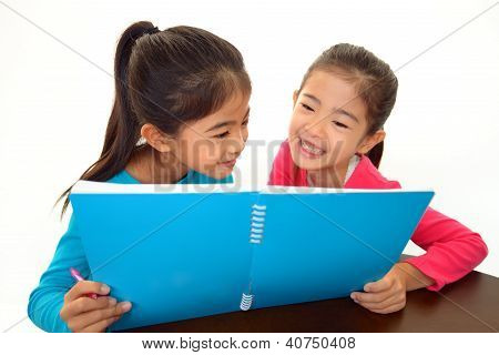 Children Studying