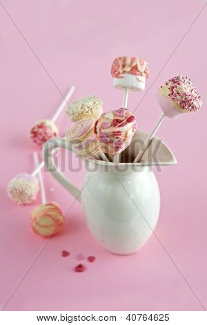 Marshmallow And Chocolate Pops
