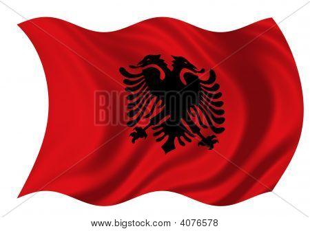 Republic Of Albania Flag
