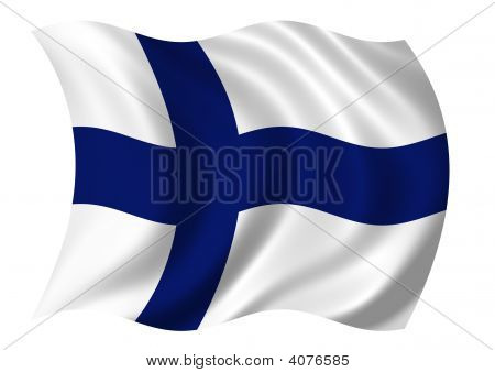 Republec Of Finland Flag