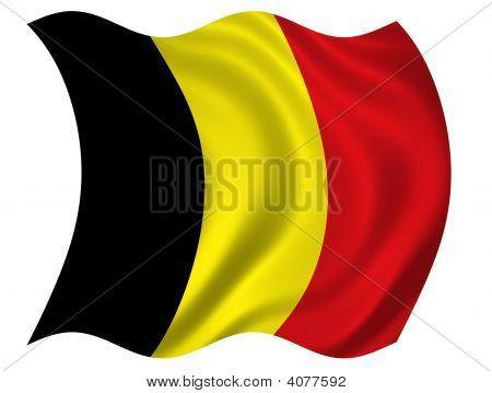 Kingdom Of Belgium Flag