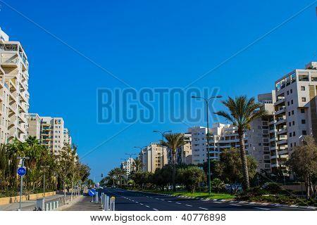 View Of Tel Aviv Street