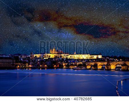 Prague With Stars