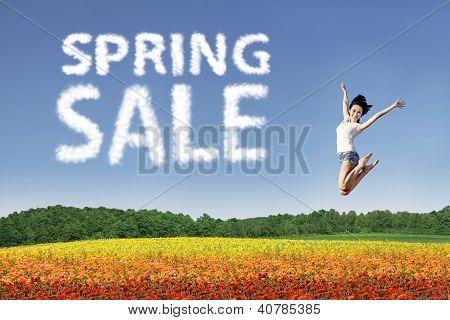 Happy Spring Sale
